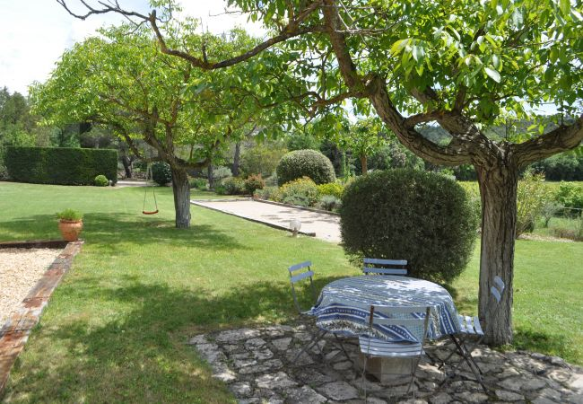 Maison à Cotignac - Les 2 Palmiers, vacances détente en Provence