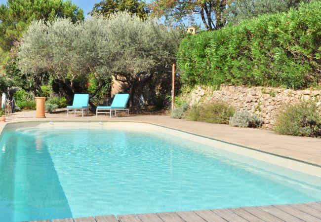 Villa à Cotignac -  Arts & Flores : Vacances au calme, piscine privée et WIFI