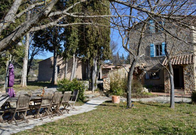 Maison à Cotignac - La Bergerie : vacances nature au coeur du vignoble