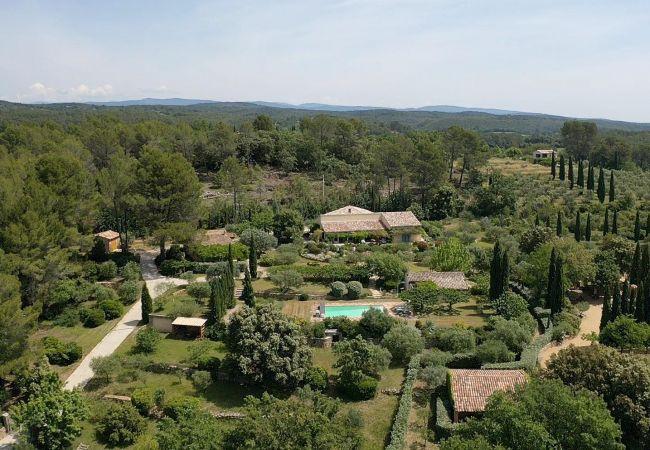 Maison à Cotignac - Clos Paradis : superbe propriété provençale avec piscine privée
